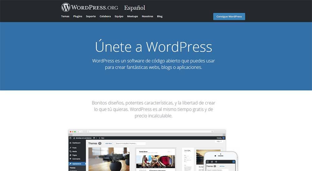 Wordpress Gestor de Contenido