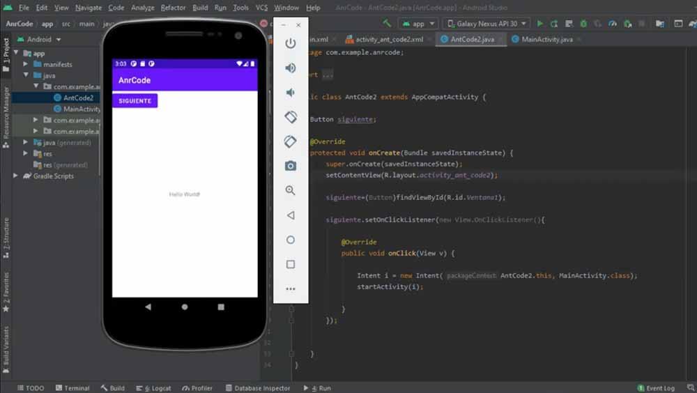 emulador Android Virtual Device